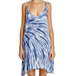 NWT! Lucky Brand Blue Fireworks Swimsuit Cover Up